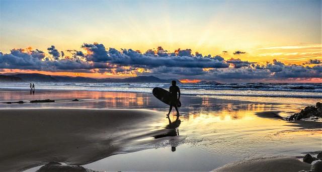 El surfista.