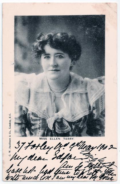 Miss Ellen Terry Prior to 1902
