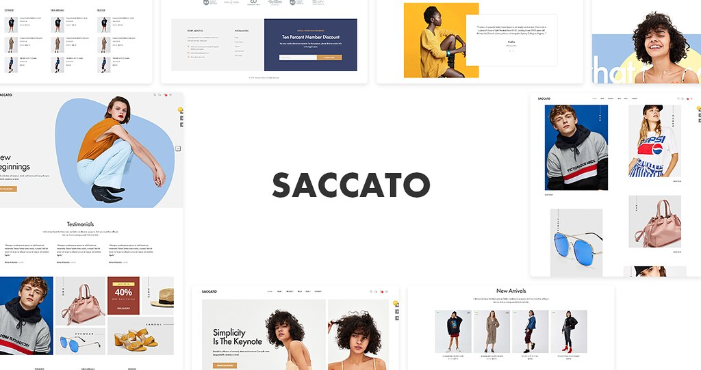 Leo Saccato Creative PrestaShop Clothing Theme