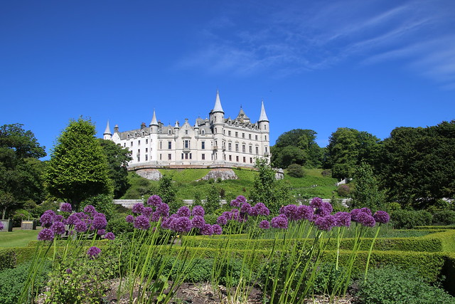 Dunrobin Castle, Highlands, Scotland.