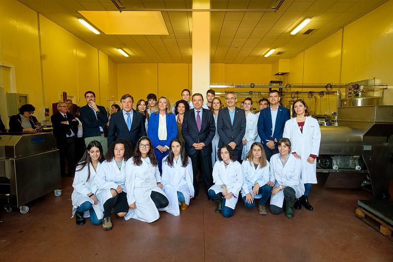 Visita de Luis Planas Puchades, ministro de Agricultura, Pesca y Alimentación del Gobierno de España