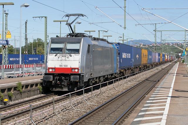 Railpool 186 500 Weil am Rhein (D)