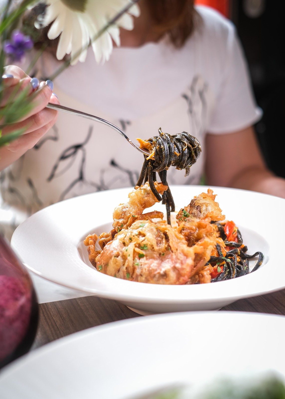 soft shell crab pasta 2