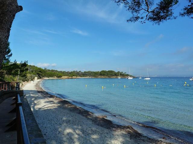 La plage d'Argent.....