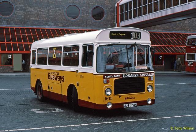JUG353N Newcastle Busways 1610