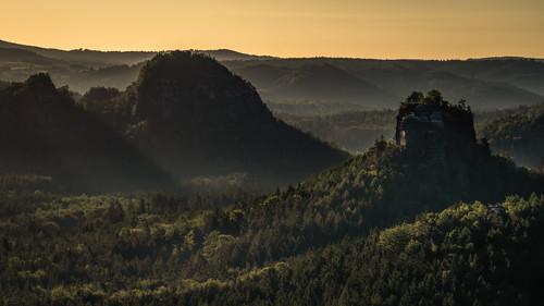 Wooded hills - bewaldete Hügel
