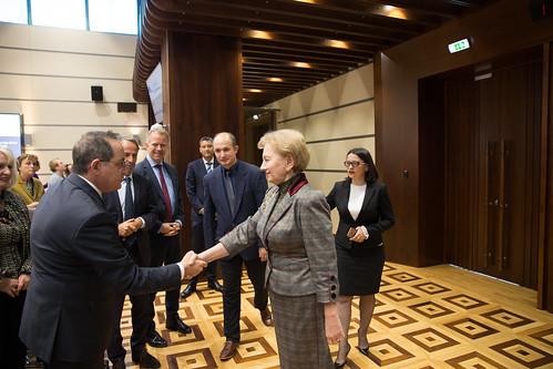11.10.2019 Întrevederea Președintelui Parlamentului, Zinaida Greceanîi, cu delegația Ambasadorilor Grupului de raportori pentru democrație al Comitetului de Miniștri ai Consiliului Europei