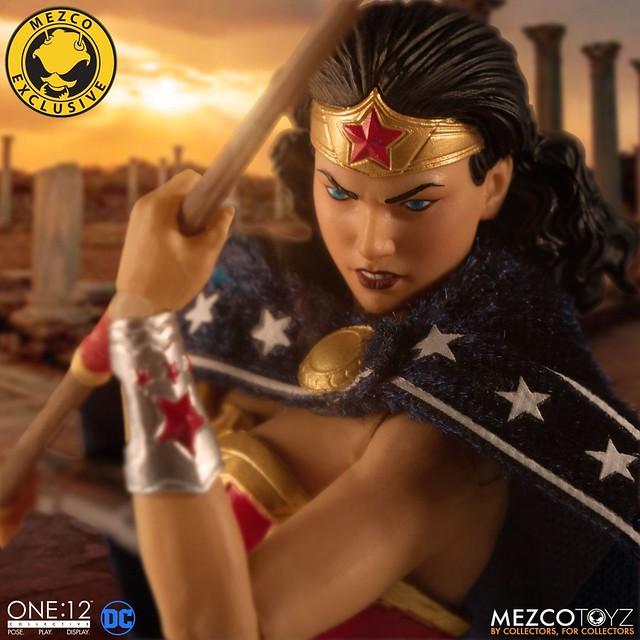 原始造型別有風味!MEZCO – ONE:12 COLLECTIVE 系列《神力女超人》經典版本(Wonder Woman - Classic Edition)