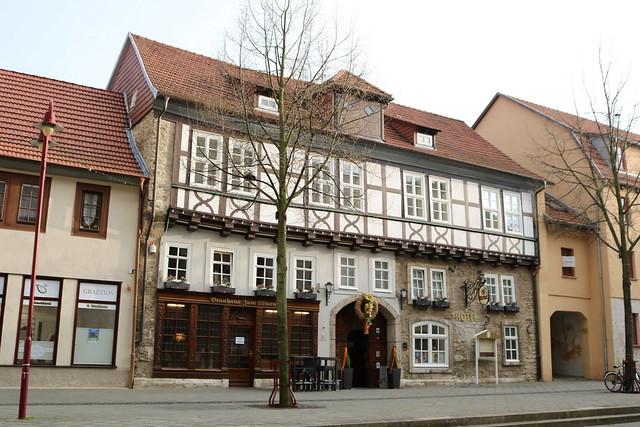 Mühlhausen (Thüringen): Brauhaus und Hotel