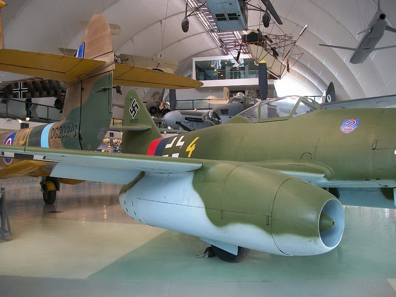 Messerschmitt Me262 Jet Fighter 00002
