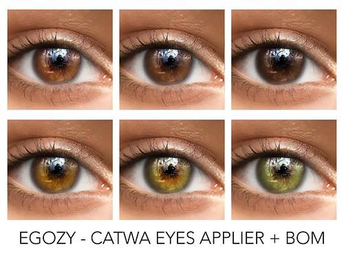 EGOZY I Oasis Eyes  x Unik Event (Catwa Applier)