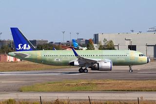 F-WWBC Airbus A320 Néo SAS