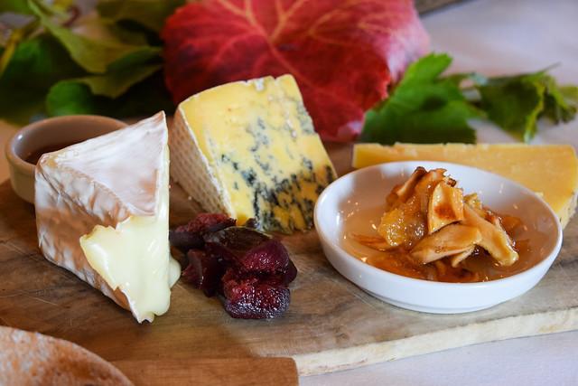 Kentish Cheeseboard at Squerryes Vineyard and Winery