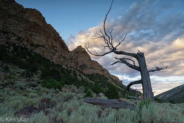 Irish Canyon, Colorado Sunset Scene