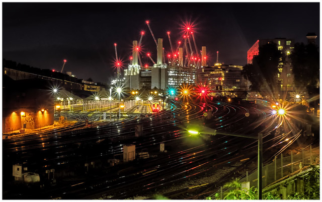 London's Night Rails