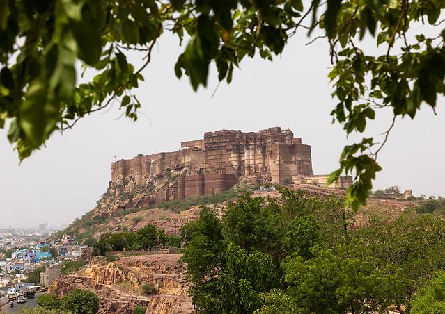 Mehrangarh fort, Rajasthan, Jodhpur, India