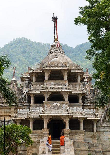 Adinath temple, Rajasthan, Ranakpur, India