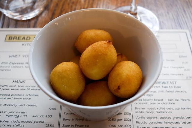 Nduja' Gnocchi at Bread Street Kitchen, London