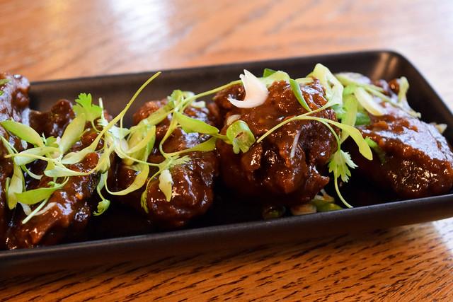 Crispy Asian Chicken Wings at Bread Street Kitchen, London
