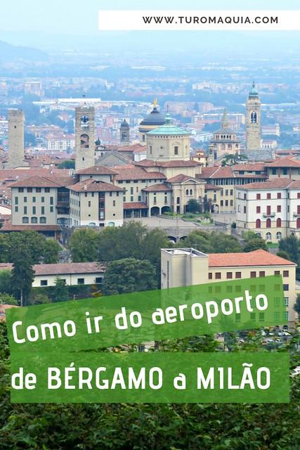 Como ir de Milão ao aeroporto de Milano-Bergamo