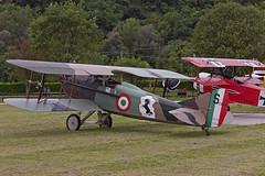 SPAD XIII R, aerei storici a Nervesa della Battaglia, Treviso, settembre 2019