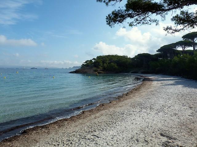 La plage d'Argent......