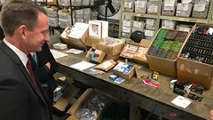 Ned Sharpless at FDA's International Mail Facilities - 0603