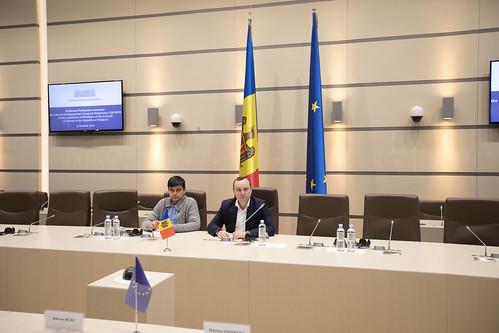 11.10.2019 Întrevederea Fracțiunii PSRM, cu delegația Ambasadorilor Grupului de raportori pentru democrație al Comitetului de Miniștri ai Consiliului Europei