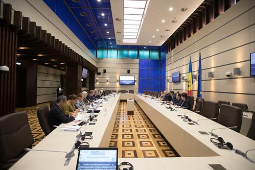 11.10.2019 Întrevederea Fracțiunii PDM, cu delegația Ambasadorilor Grupului de raportori pentru democrație al Comitetului de Miniștri ai Consiliului Europei