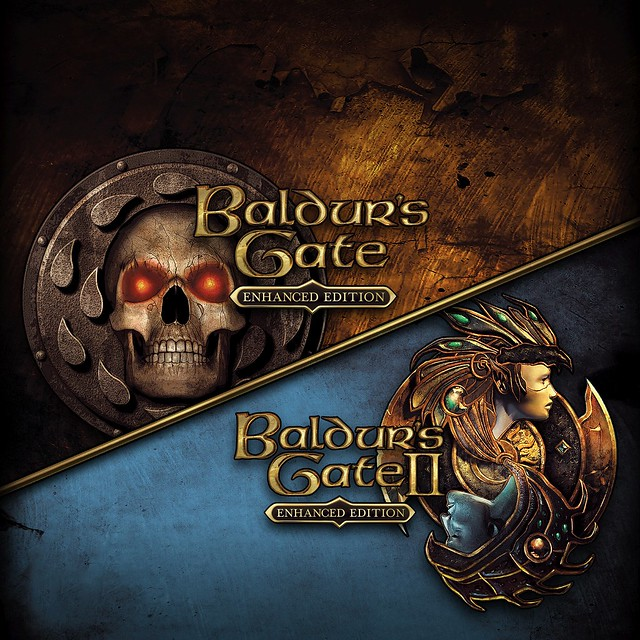 Thumbnail of Baldur's Gate and Baldur's Gate II Enhanced Editions on PS4