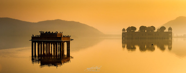 Water Palace II Jal Mahal-Jaipur India