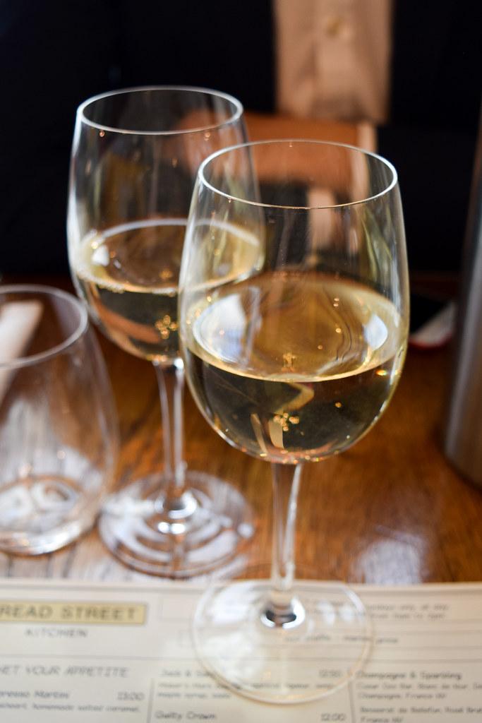 White Wine at Bread Street Kitchen, London