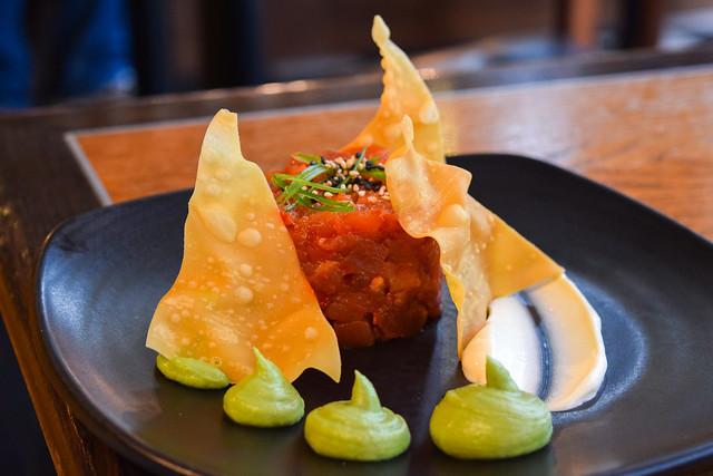 Tuna Tartare at Bread Street Kitchen, London