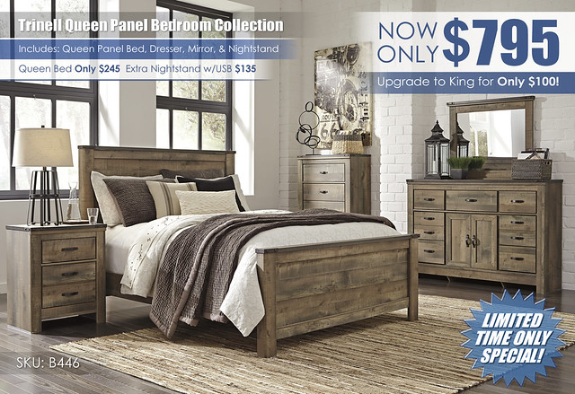 Trinell Queen Panel Bedroom Set Special_B446-32-26-46-57-54-96-92-Q476