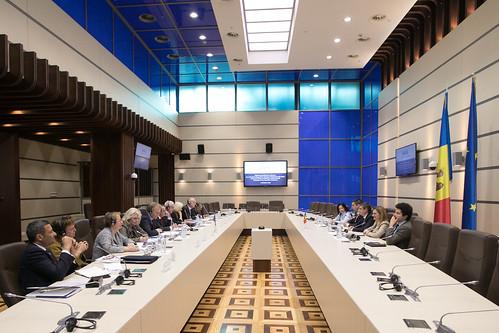 11.10.2019 Întrevederea Fracțiunii PAS, Blocul ACUM, cu delegația Ambasadorilor Grupului de raportori pentru democrație al Comitetului de Miniștri ai Consiliului Europei