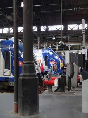 Platform of Gare Saint-Lazare, Paris