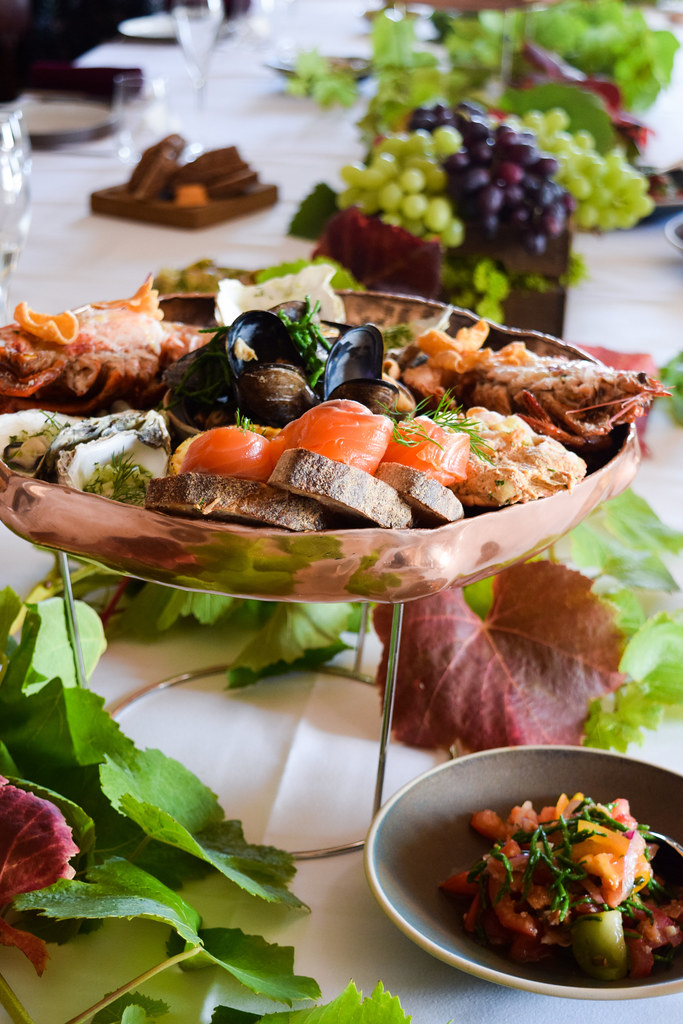 Fruit de Mer at Squerryes Vineyard and Winery