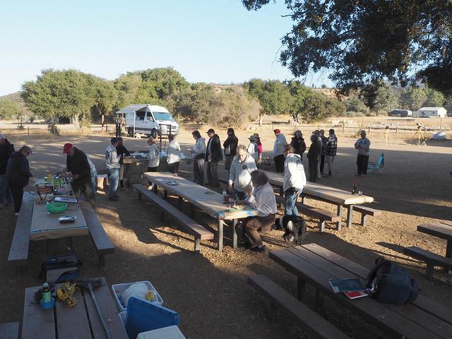 S9285263 SBAU Cachuma Lake campout Mohawk Shores potluck food