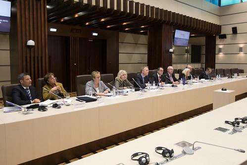 11.10.2019 Întrevederea Fracțiunii Platforma DA, Blocul ACUM, cu delegația Ambasadorilor Grupului de raportori pentru democrație al Comitetului de Miniștri ai Consiliului Europei