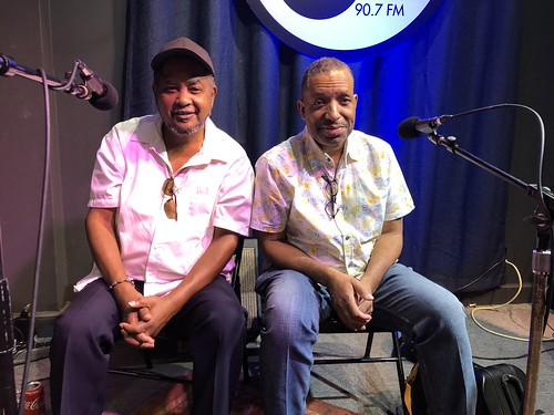 Action Jackson and Donald Harrison - Oct. 7, 2019. Photo by Carrie Booher.