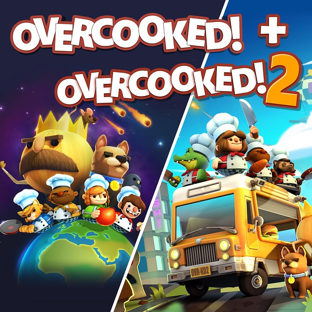 Thumbnail of Overcooked! + Overcooked! 2 on PS4
