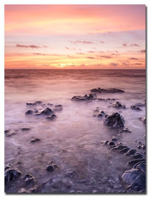 Costa de la isla de Tabarca.