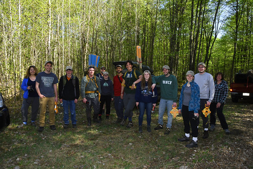 Tue, 05/15/2018 - 15:52 - (L to R): Amy Wolf, Brandon Byrne, Jacob Woulf, Luke Magee, John Magee, Maggie Magee, Juan Camilo Bedoya, Matt Kugel, Kenzie Ostien, Jake Barnes, Alicia Krause, Kyle Hanson, and Kathryn Corio