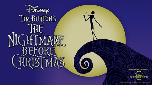 "Tim Burton's ""The Nightmare Before Christmas"" WITH Symphony Orchestra"