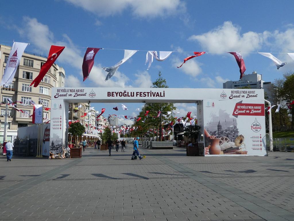 The Beyoglu Festival, Taksim Square, Istanbul