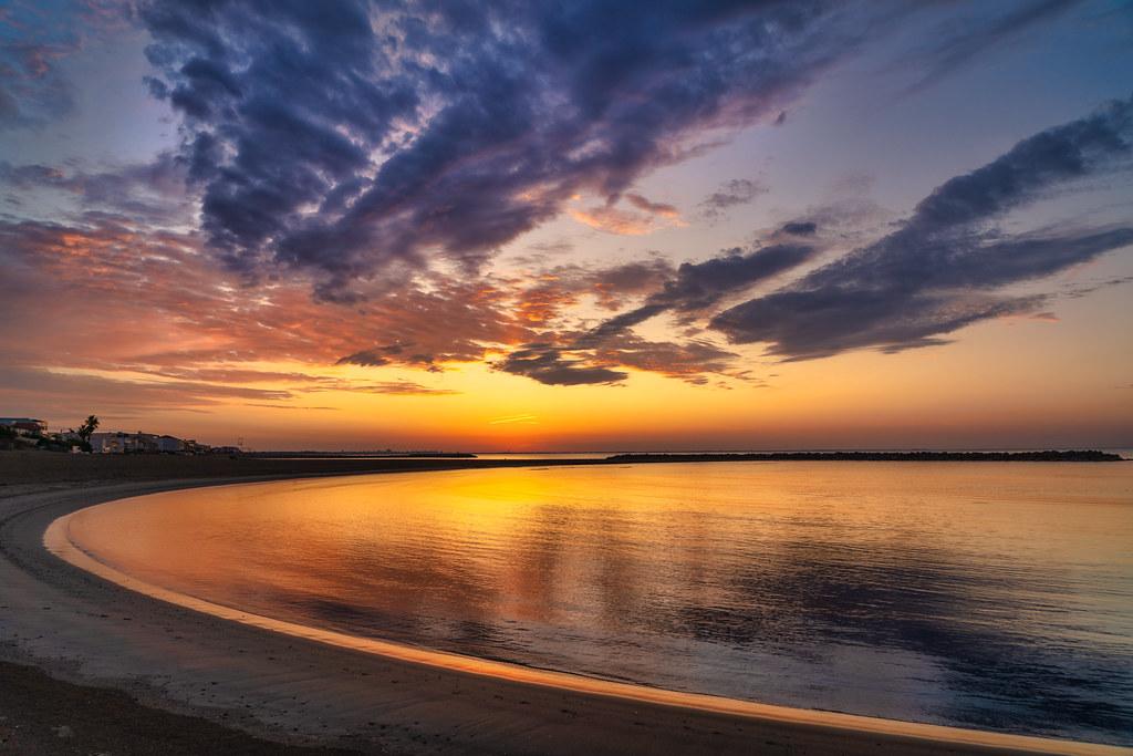 Carnon Plage Sunrise