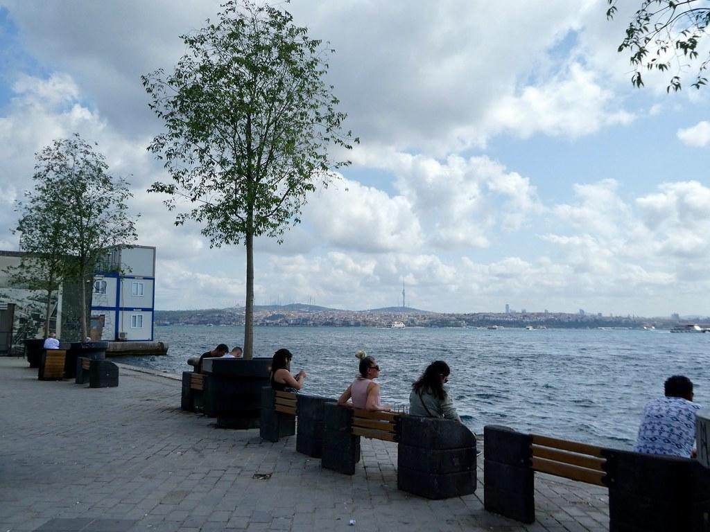 Waterfront, Karakoy, Istanbul