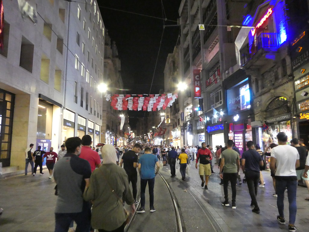 Istiklal Street, Taksim, Istanbul