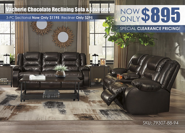 Vacherie Chocolate Reclining Sofa & Loveseat_79307-88-94-T301-OPEN