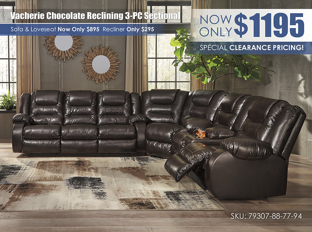 Vacherie Chocolate Reclining 3-PC Sectional_79307-88-77-94-OPEN